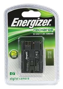 Energizer CA511 Batterie de rechange pour caméscope et appareil photo numérique correspondant aux batteries Canon BP511, BP-508, BP512