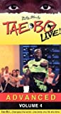 Billy Blanks Taebo Live! Advanced Volume 4