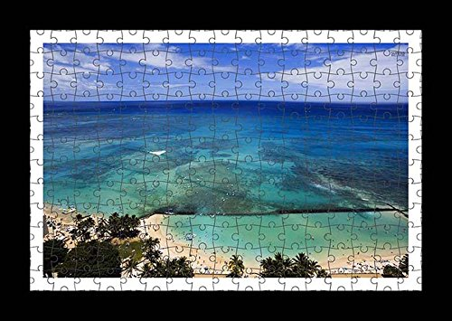 puzzle-style-pre-assembles-imprimer-mur-de-sandy-beach-to-the-ocean-by-lisa-loft