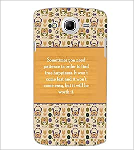 PrintDhaba Quote D-3692 Back Case Cover for SAMSUNG GALAXY MEGA 5.8 (Multi-Coloured)