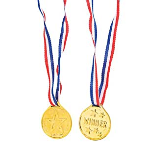 Rhode Island Novelty 36 Winner Medals
