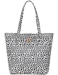 Ekora Women's Handbag (LHBM1-White Print)
