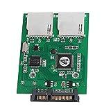 Onpiece Dual 2 Port SD SDHC MMC RAID to SATA Adapter Converter