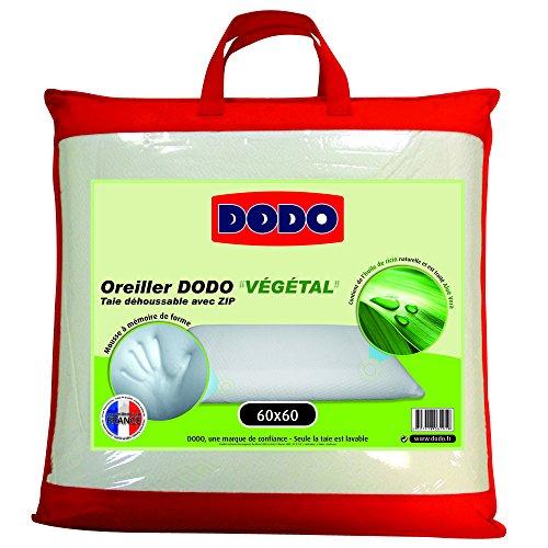 dodo-vegetal-oreiller-uni-ergonomique-mousse-a-memoire-de-forme-blanc-60-x-60-cm
