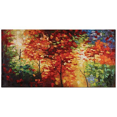 Uttermost 32214 Bright Foliage Canvas Art by Uttermost