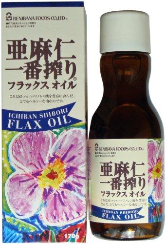 Safflower food flax Ichiban shibori 170 g