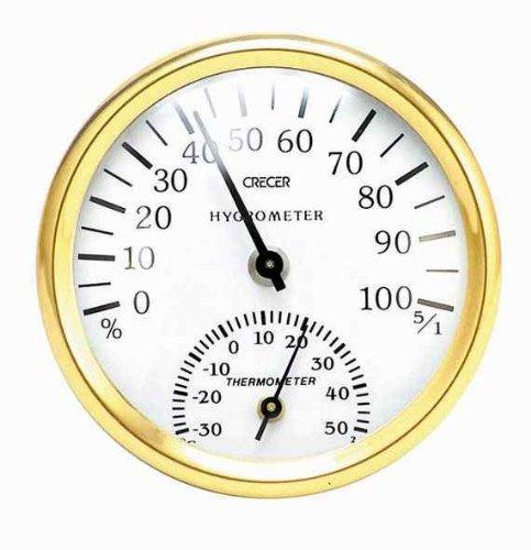 クレセル 温度計・湿度計CR-101W