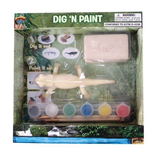 Adventure Planet Iguana Dig N' Paint Kit - 1