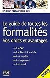 echange, troc Prat Editions, Sylvie Peylaboud - Le guide de toutes les formalités