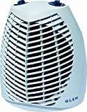 Light grey Glen Upright Fan Heater GU2TS (Glen, ) 2 Kw