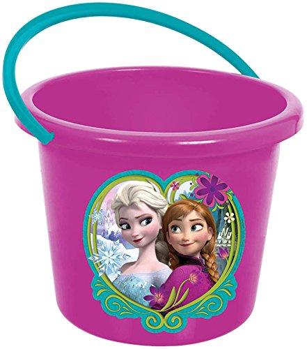 Frozen Jumbo Plastic Favor Container (Frozen Trick Or Treat Bucket)