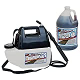 Bare Ground Deluxe System - Battery-Operated Sprayer, 1-Gallon Liquid De-Icer, Model# BGPS-1