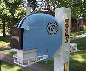 North Carolina Tar Heels Helmet Style Mailbox by Ultimate Sports Gifts