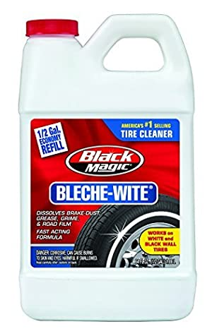 Black Magic 800002223 Bleche-Wite Tire Cleaner, 64 oz. by Black Magic