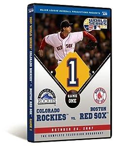 2007 World Series Game 1 - Boston Red Sox 13, Colorado Rockies 1