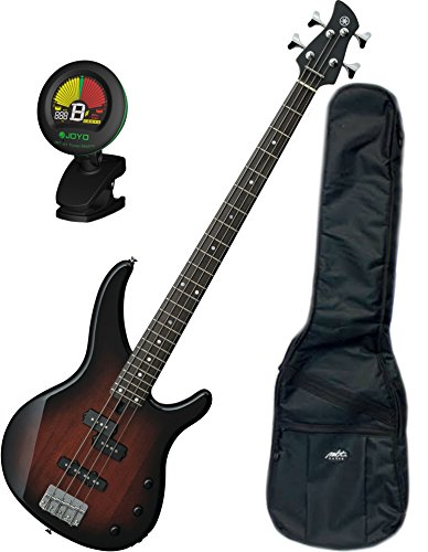 Yamaha TRBX174 OVS TRBX-174 Old Violin Sunburst 4 String Bass Guitar w/ Gig Bag and Tuner