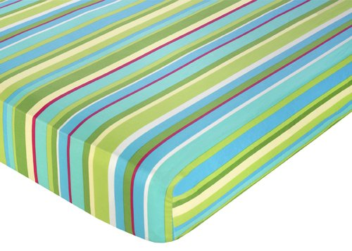 Turquoise Crib Sheets