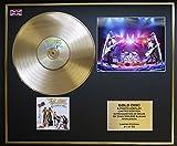 ZZ TOP/CD GOLD DISC & PHOTO DISPLAY/LTD. EDITION/COA/GREATEST HITS