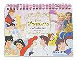 デルフィーノ 2017年 卓上カレンダー ディズニー プリンセス DZ-77907