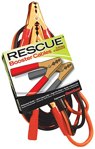 Quick Cable 602120-001 1 Pack 12' 6 GA 200 Amp Rescue Alligator Clamp Light Booster Cable (1 Ga Booster Cables compare prices)