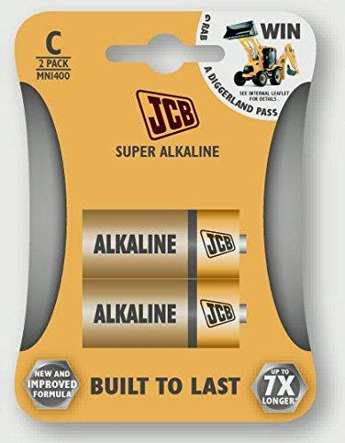 JCB batteries JCB Super Alkaline C-cellulaires LR14