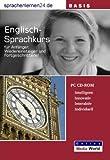 echange, troc Udo Gollu - Sprachenlernen24.de Englisch-Basis-Sprachkurs CD-ROM für Windows/Linux/Mac OS X (Livre en allemand)
