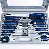 Schraubendreher Satz Set 12 tlg - Chrom-Vanadium-Stahl- Werkzeug mit Koffer