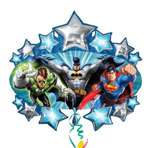 Justice League Supershape Foil Mylar Balloon (1ct)