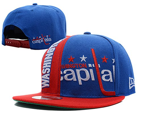 washington-capitals-unisex-snapback-hat-adjustable-ice-hockey-cap-blue-one-size