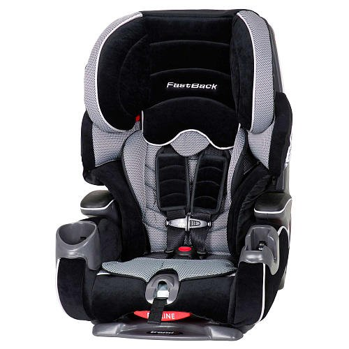 Baby Trend Trendz FastBack 3-in-1 Car Seat, Grey/Black