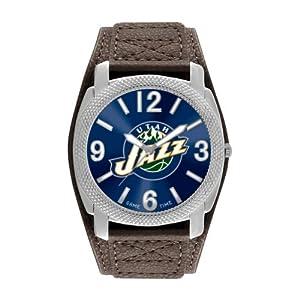 Game Time Mens NBA-DEF-UTA Utah Jazz Defender Analog Display Japanese Quartz Brown... by Game Time