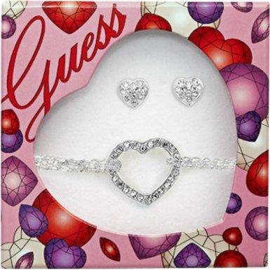 Parure bijoux guess collier boucles d 39 oreille 31 en vente clair a - Bon de reduction vente unique livraison gratuite ...