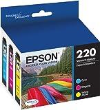 Epson DURABrite Ultra Standard-Capacity Ink Cartridge, Color Multipack (T220520)