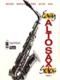 img - for Music Minus One Alto Sax: Easy Alto Sax Solos, Vol. I (Student Edition) book / textbook / text book