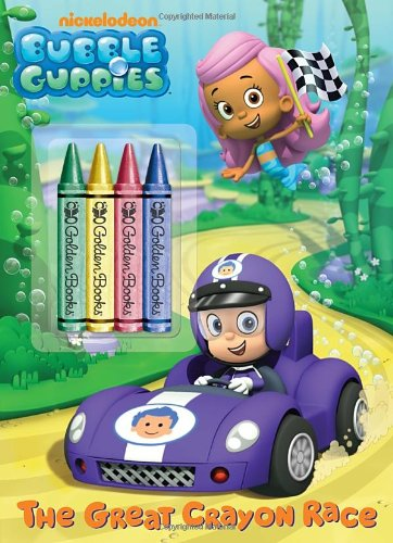 The Great Crayon Race (Bubble Guppies) (Nickelodeon Bubble Guppies)