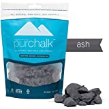 Pur Chalk | #1 Best Climbing Chalk | Colored Rock Climbing Chalk | 100% Natural Chalk Powder | Eco- Friendly | Safe for Indoor & Outdoor Use | Gym , Workout & Weight Lifting Loose Chalk | 100% Pure Magnesium Carbonate | Non-staining | Non-toxic | 100% Money Back Guarantee