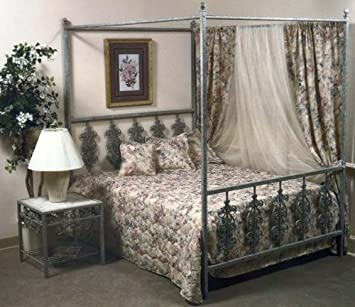 The Grace Collection Garden Series Bed with Frame, IB10-FU, IB10 FU, IB10FU