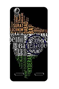 ZAPCASE PRINTED BACK COVER FOR LENOVO A6000 PLUS - Multicolor