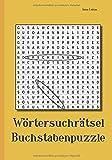 Wörtersuchrätsel Buchstabenpuzzle
