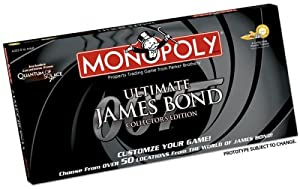 USAopoly My James Bond Monopoly