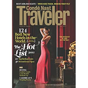 Click to buy Conde Nast Traveler Magazine from Amazon!