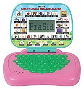 PraSid Smart Lovely English Learner Kids Laptop