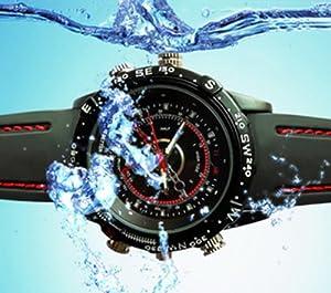 Digitale Kamera Uhr, wasserfest zum Aufnehmen von Videos und Bildern / Hidden Camera Cam Watch waterproof, 3 MP, 4GB, Auflösung: 1280 x 960, 30 fps, Video / Foto / versteckt / digital / Marke Incutex