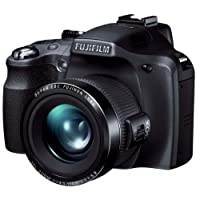 Fujifilm FinePix SL300 14MP Point-and-Shoot Digital Camera (Black) with 4GB SD Card, Carry Case