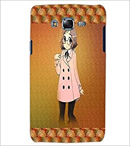 PrintDhaba Studious Girl D-4585 Back Case Cover for SAMSUNG GALAXY ON 7 (Multi-Coloured)