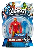 Toy - Marvel Comics Avengers Assemble Action Figur: Iron Man, Repulsor Blast!, ca. 11cm