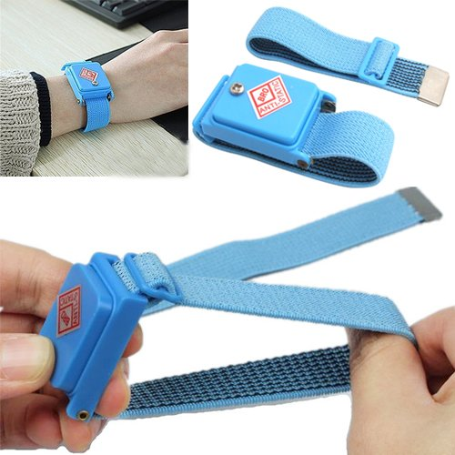 Hde Cordless Wireless Adjustable Anti-Static Esd Electrostatic Discharge Wrist Band Strap