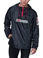 Geographical Norway Chaqueta Impermeable Boogee (Negro)
