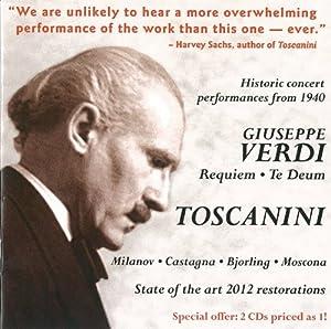 Toscanini dirigiert Verdi: Requiem/Te Deum