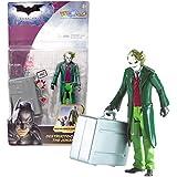 Mattel Year 2007 DC Comics Batman The Dark Knight Series 5 Inch Tall Action Figure : DESTRUCTO-CASE THE JOKER (M5060) with Mischievous Gadget Suitcase